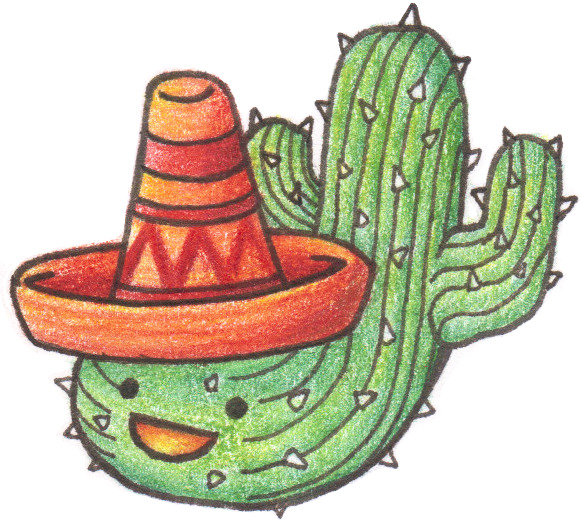 99prismaballoons:  Cactus man of MEXICO greets you! (hella proud he turned out well!)