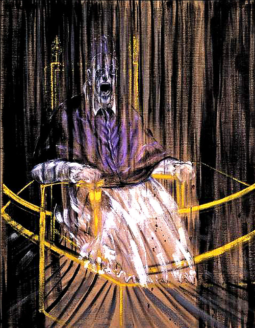Study after Velázquez's Portrait of Pope Innocent X, 1953 -  Francis Bacon (1909 – 1992)