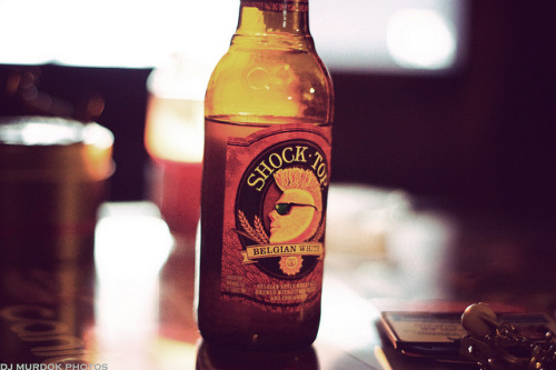 Shock top beer! on Flickr.