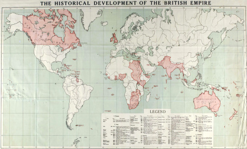 The Historical Development of The British Empire, via sandypoint