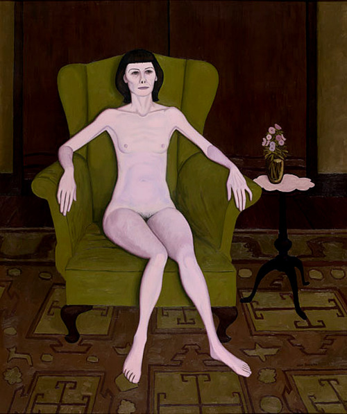 NUDE IN AN ARMCHAIR, 1957 - John Brack (1920-1999)
