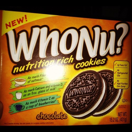 My daughter liked them. #WhoNu? #Nutrition rich #cookies. #Healthy #Oreo? Hah.   (Taken with instagram)