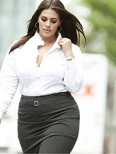 Ashley Graham of Lane Bryant <3