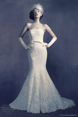 helloweddingdiary:  Lusan Mandongus 2012 bridal collection