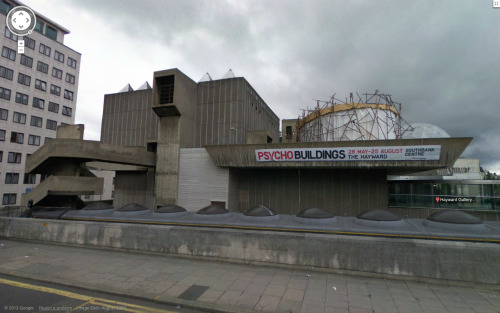 Street View Hayward Gallery, Higgs & Hill, London, 1968.