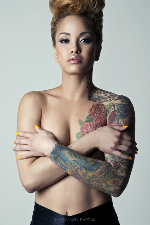 ultimatebeauties:  view more tatted beauties→