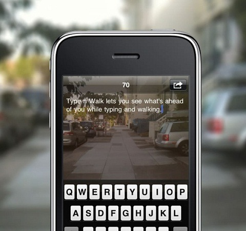 App of the Day: Type n' Walk
