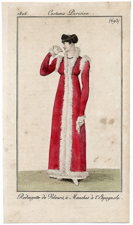Journal des Dames et des Modes, 1806. Well guh. This is to die for!