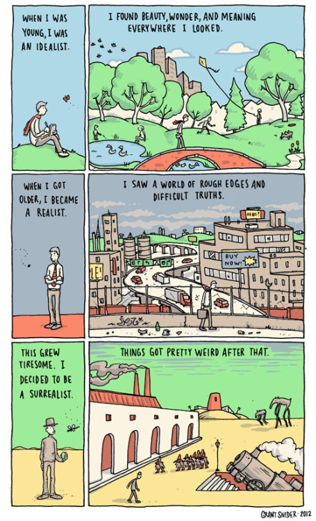 incidentalcomics:  The Art of Living