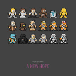 Mega Star Wars: A New Hope