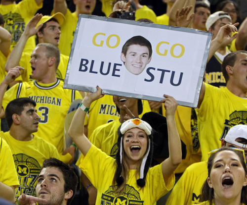 Layne - Go Stu Go Blue by Robbie Small on Flickr.