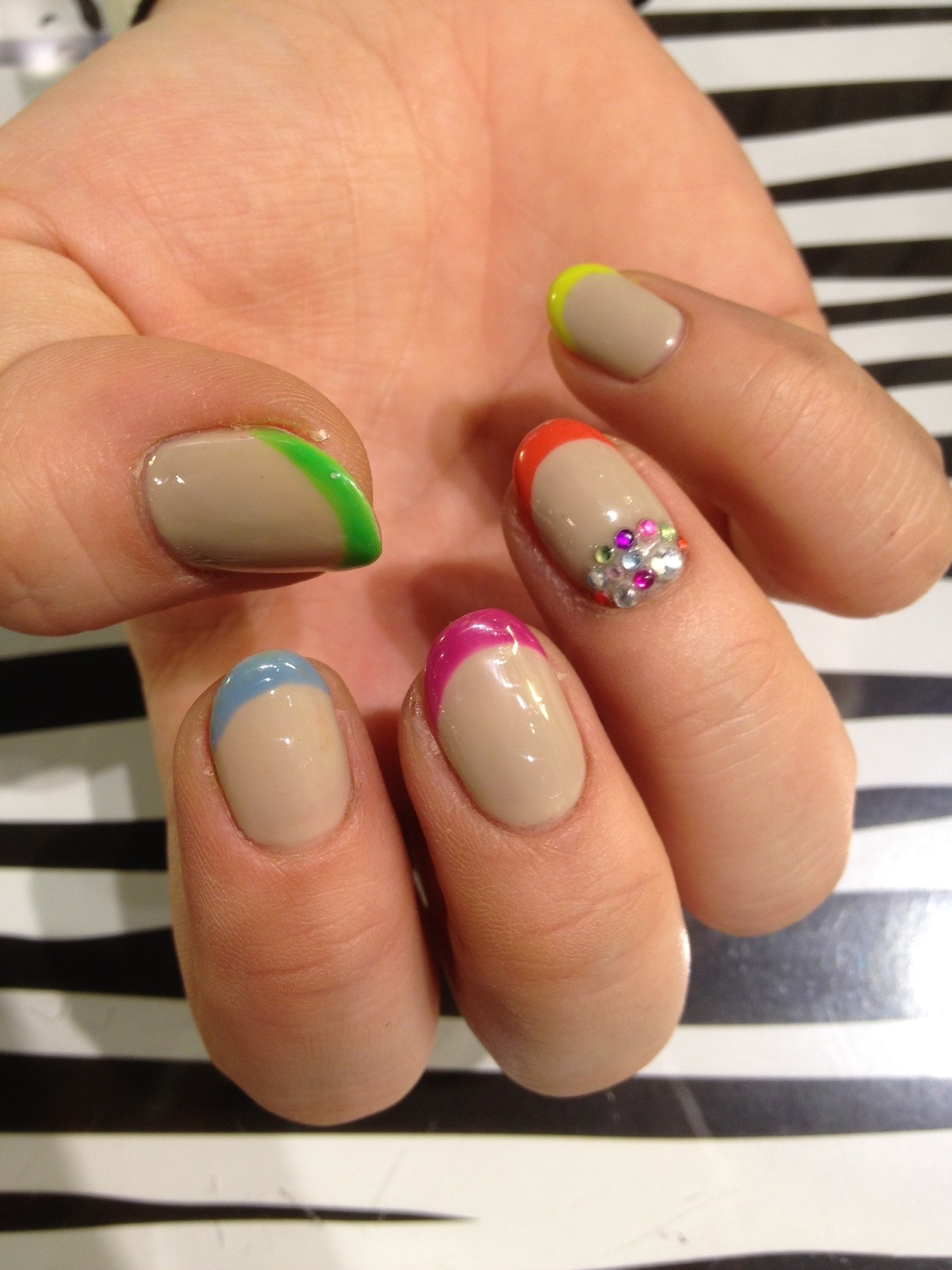 gonna try this for Easter minus the jewels wahnails: