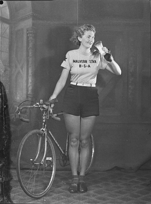 treadlyandme:  Cyclists and beer. Always has been, always will be, a perfect partnership…