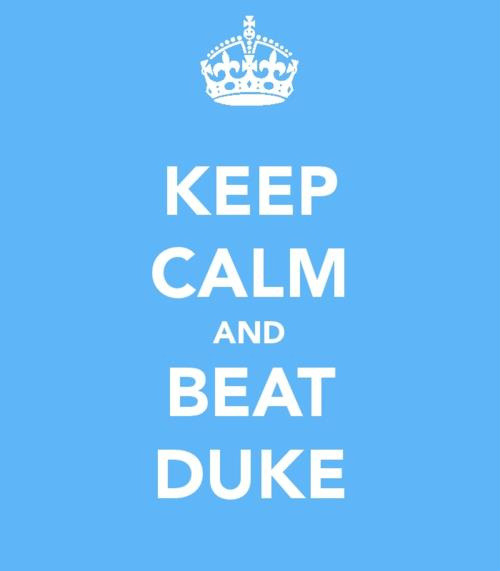 Let's Go Heels!!  (Thanks @meremar for this gem.)