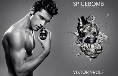 Sean O'Pry for Viktor&Rolf Spicebomb..