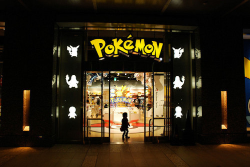 mademoisellefarah:  Pokémon Centre by Mark Liddell