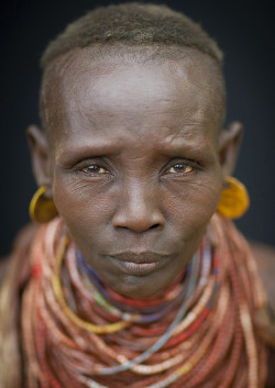 Old Karo tribe woman - Ethiopia by Eric Lafforgue on Flickr.