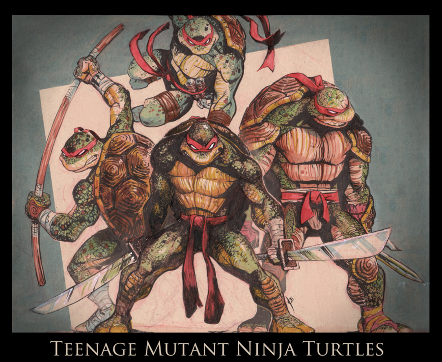 TMNT by joe-vriens