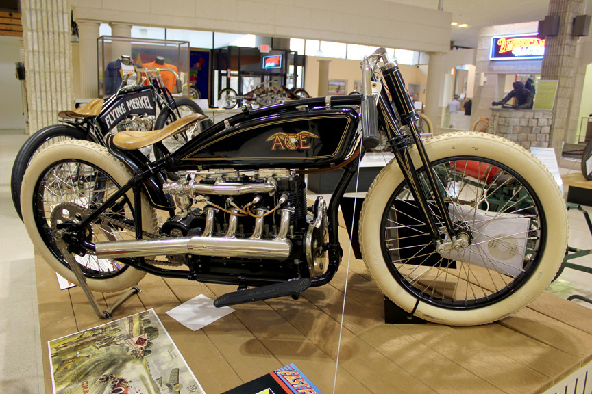 """Bringing competition to Indian's doorstep"" Motorcyclepedia's 1923 Ace Board Track Racer"