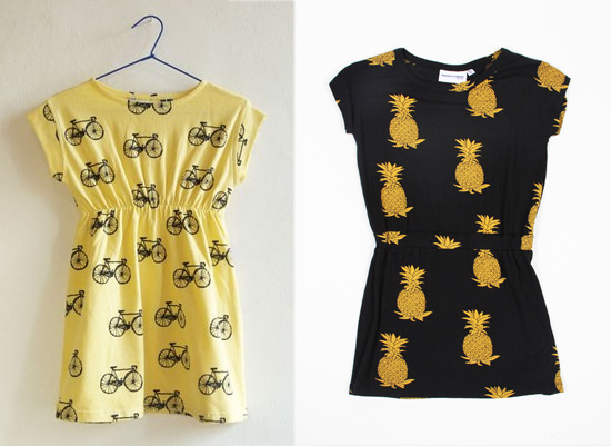 bike print: bobo choses pineapple print: mini rodini