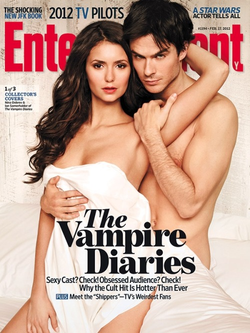 This Week's EW Cover: 'The Vampire Diaries' stars talk about the red-hot Damon-Elena-Stefan triangle