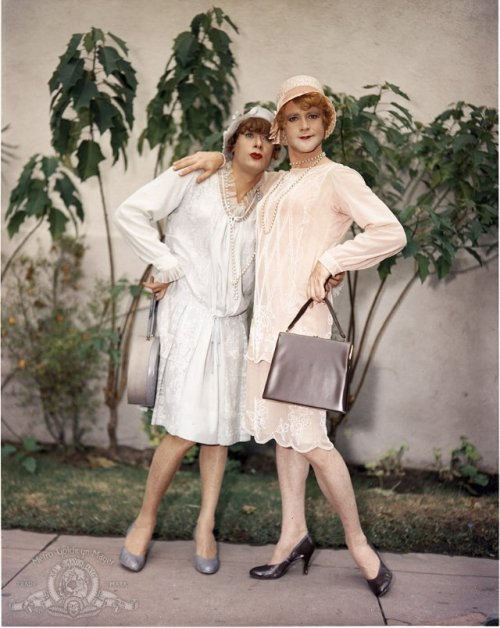 "Tony Curtis and Jack Lemmon in ""Some Like It Hot"" (1959)"