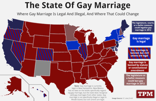 USA: The State Of Gay Marriage
