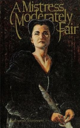 "Mistress Moderately Fair (1988) Katherine Sturtevant In 17th century London's theater district, muddy streets and stimulating coffee houses, a sensitive romance develops between two women Margaret Featherstone, a playwright, and Amy Dudley, a mysterious and talented actress. Beyond the challenge of maintaining their illicit relationship, the women grapple with the choice of fulfilling love or ambition.  Despite their intimacy, Amy does not reveal her troubled past to Margaretand her abrupt disappearance wounds her lover deeply. To assuage the pain, Margaret returns to ""the strange, lonely world of invention"" to write her finest play. The new work demands an exceptional actress, and both Cary and Margaret determine it must be Amy. The search for her moves rapidly toward the stunning and well-crafted denouement."