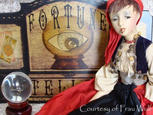 My Bohemian Childhood  Vintage Cubeb smoker gypsy boudoir doll. I want one of these so much! Visit the wonderful Frau Wulf to see her amazing collection.