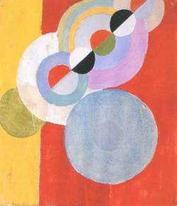 Sonia Delaunay, Rythme no. 5, France, 1939. Gouache on paper.