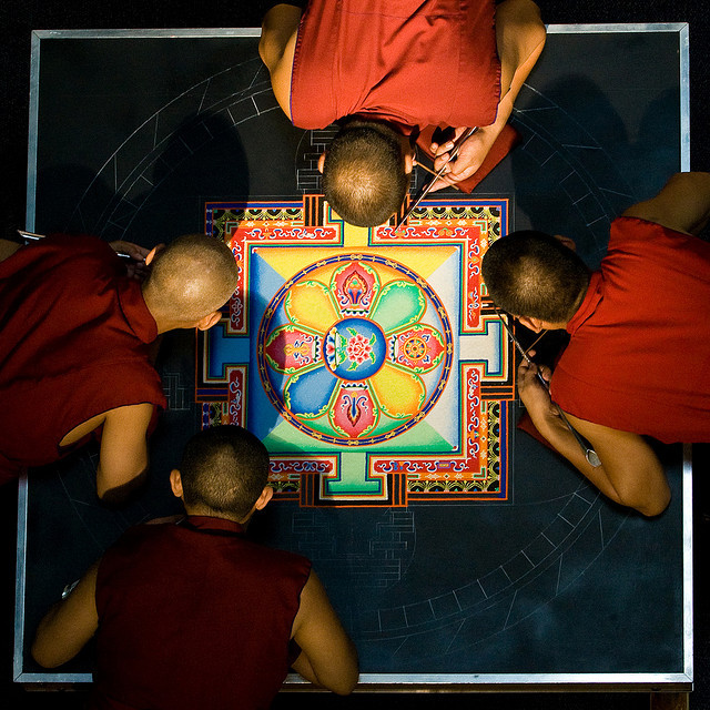 The Mandala by Nrbelex on Flickr.