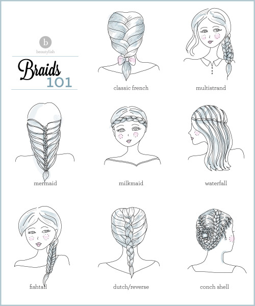 beautylish:  What's your favorite braid to wear? Check out all the tutorials we have for you to achieve your perfect braided look!