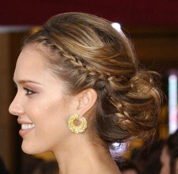 Totally love this 'do! It's perfect for a romantic date…or Valentine's Day!