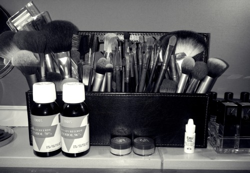 My new brush holder, I love it hihi <3
