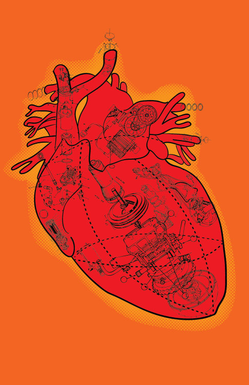 the-daily-robot:  I made this heart image almost a year ago, around Valentine's Day.  Now it's a poster, in case you don't know what to get yourself or the person with whom you have made a Valentine's Day Gift Agreement™