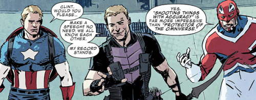 Part of Secret Avengers new lineup in #22.
