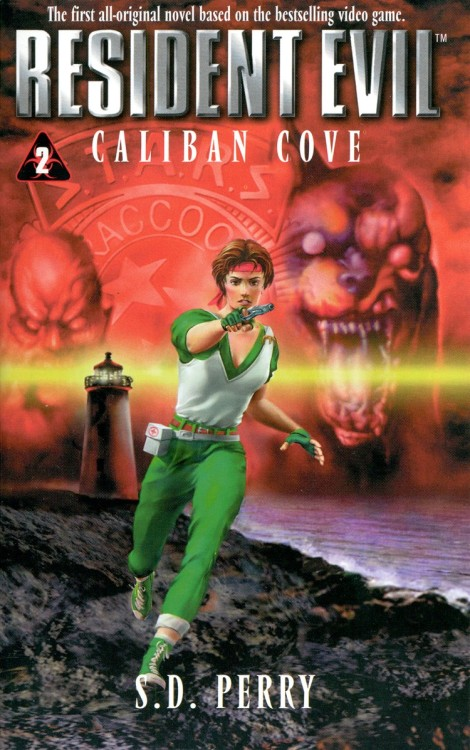 Resident Evil: Caliban Cover novel cover.