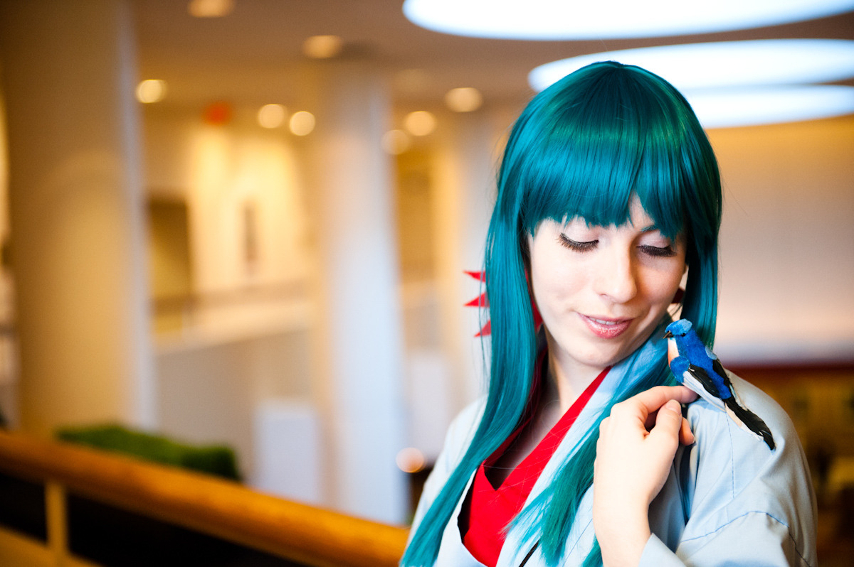 kerry-oak:  Yukina — Yu Yu Hakusho Ohayocon 2012 Photo by CKDecember This is definitely my favorite photo from the shoot~