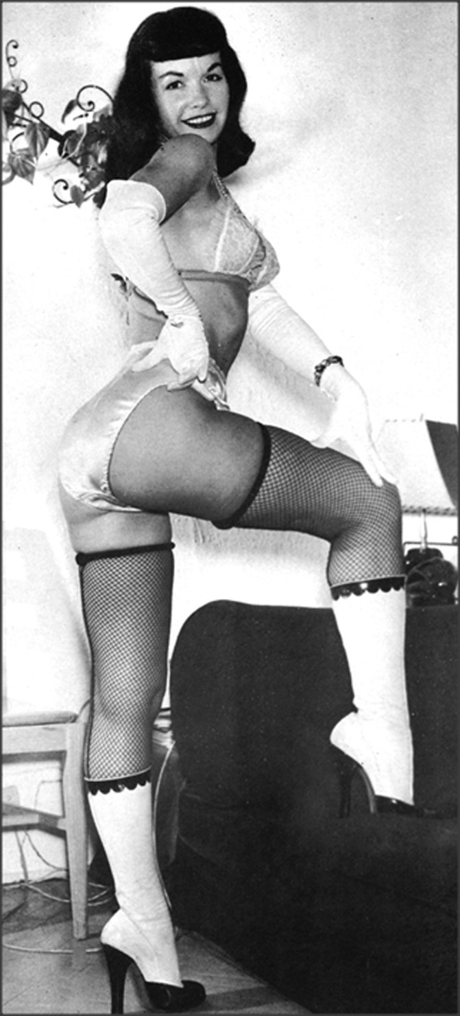 Bettie Page and her bitchin boots