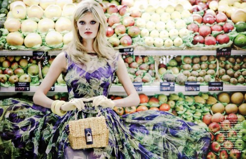 Constance Jablonski - Vogue Mexico February 2012 Photographer: Jean-Francois Campos Stylist: Sarah Gore-Reeves