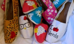 Hand painted toms!!!!!!!!!!!!!!!!!!!!!!