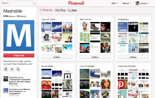 Is your business using @Pinterest? 7 examples of brands that are effectively using this tool