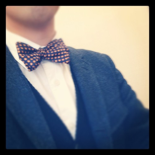 Bowties everyday. #fashion #bowties #WDIWT #menswear (Taken with instagram)