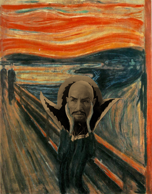 The Ming Scream Artist: Edvard Munch Villain: Ming the Merciless