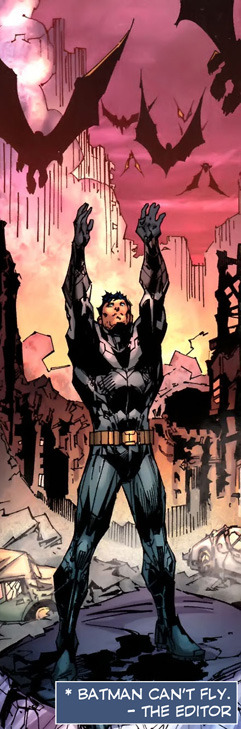 Batman from Justice League #5 (2012) by Geoff Johns and Jim Lee.