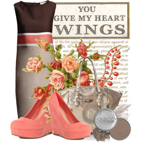 You Give My Heart Wings by queenrachietemplateaddict featuring coral jewelry