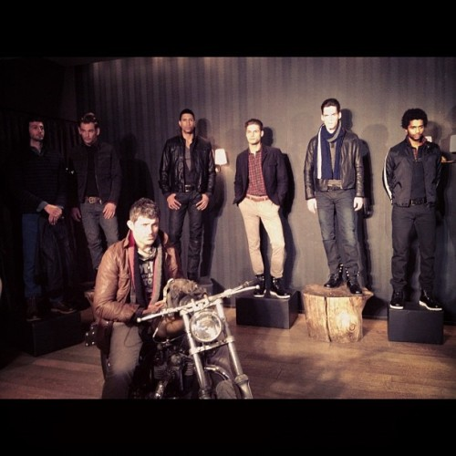 Gilded Age's rough and tough speed demons for #fw12 at #NYFW -MS (Taken with instagram)