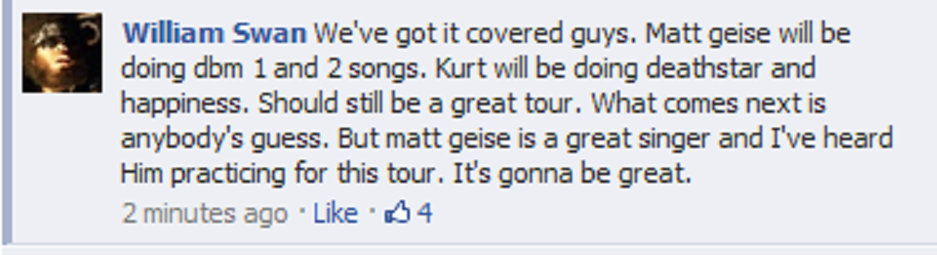 Matt Geise and Kurt Travis!