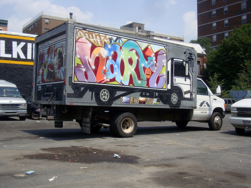 Truck on Truck by i_follow on Flickr.MARTY SMART CREW The Truck Show SF loves this truck!