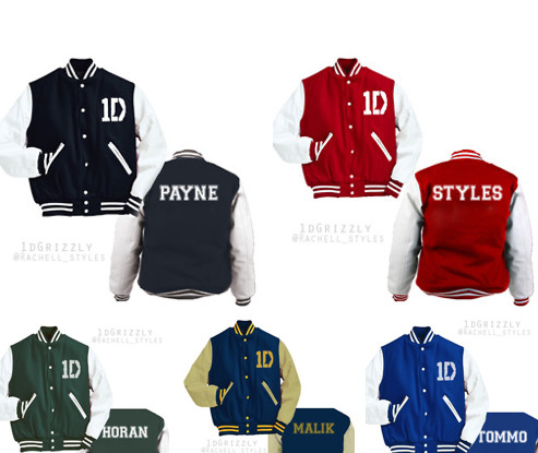 One Direction Varsity Jacket
